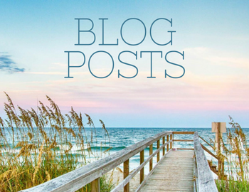Blog posts written over pier