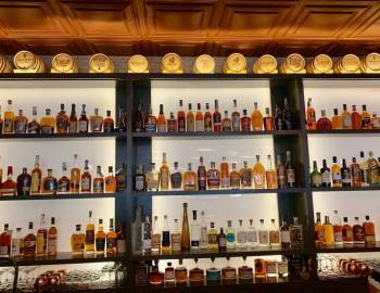 Whiskey in a bar