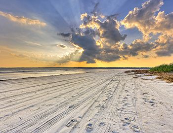 Hilton Head Beach at Sunset