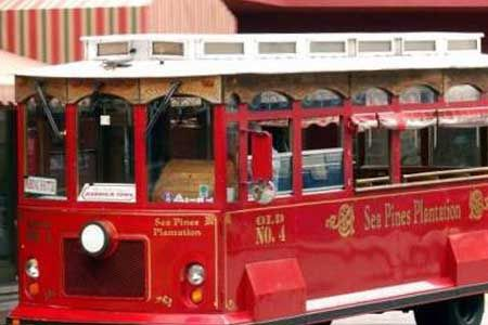 Trolley at Sea Pines