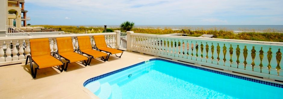 Hilton Head Oceanfront Rental with Pool
