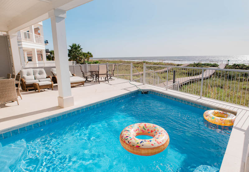 A beachfront Hilton Head home