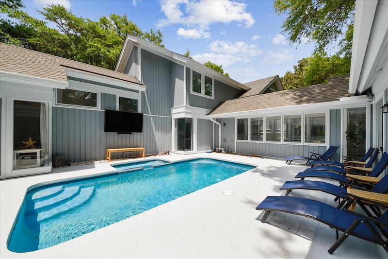 A Hilton Head vacation rental with a private pool