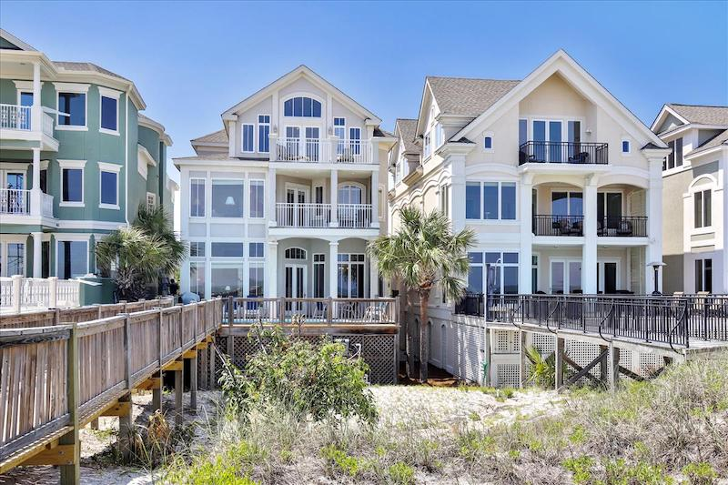 A Hilton Head vacation rental that sits on the beach