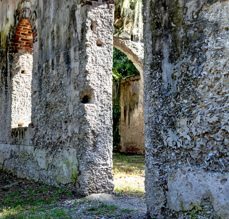 ruins in South Carolina